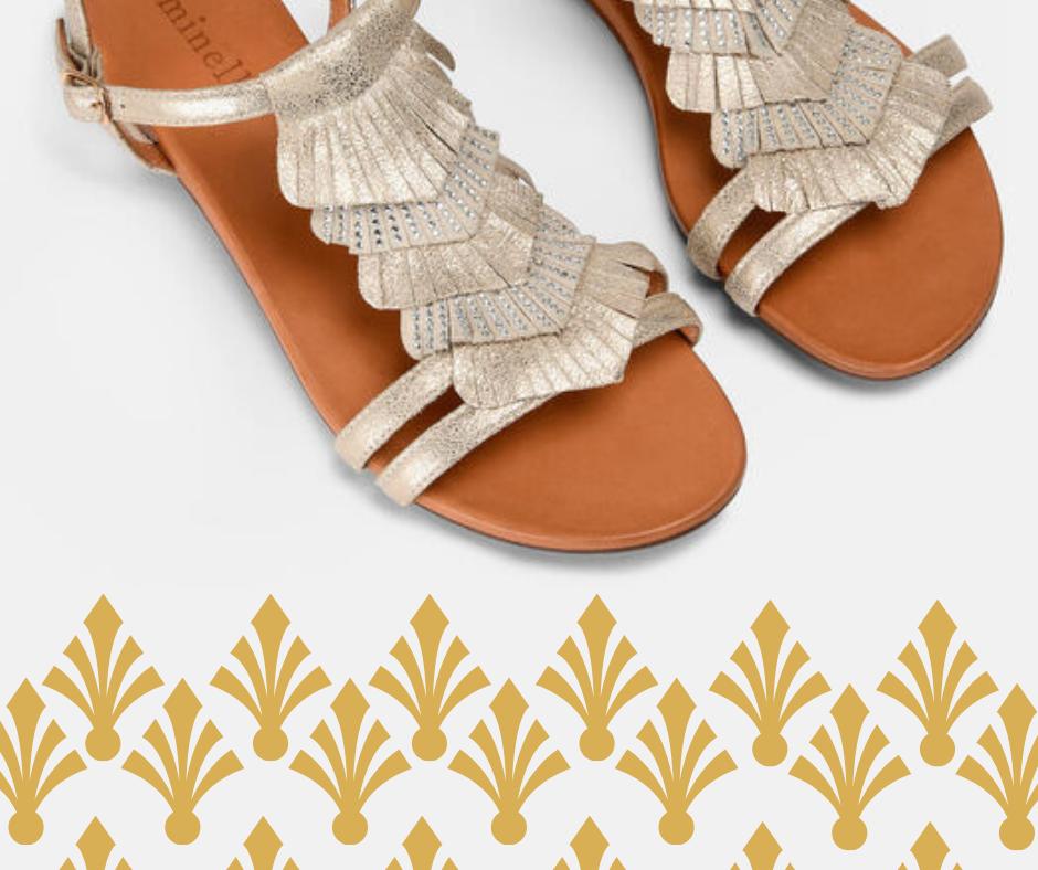 Sandales nu-pieds Daisia Minelli Eté