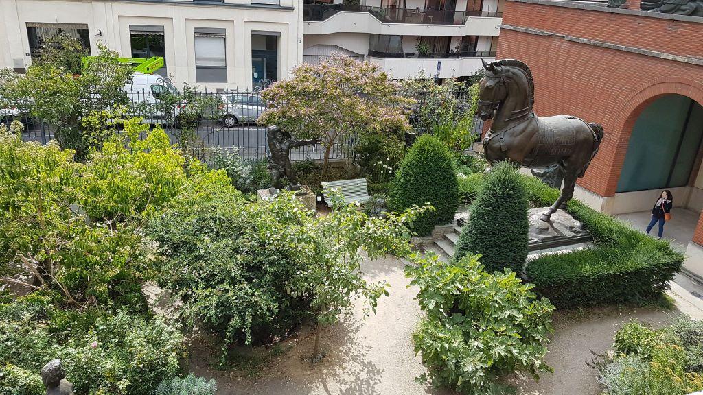 Jardin Musée Bourdelle Paris Sculpteur