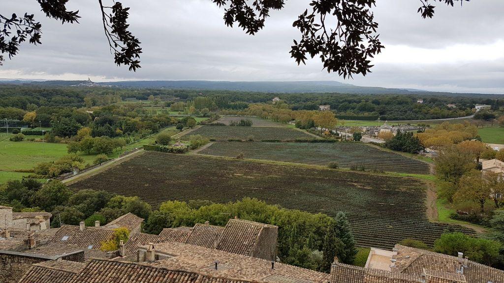 Château de Grignan sous la pluie (2)