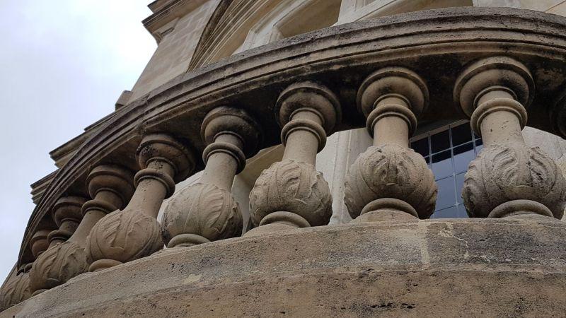 Détail Architecture Château Grignan Drôme