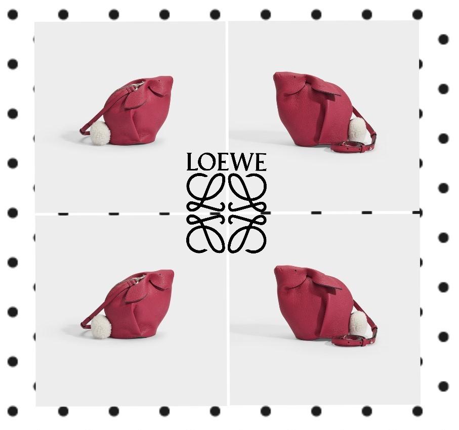Loewe Bunny Bag Pink