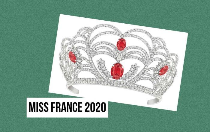 Miss France 2020 Couronne Julien d'Orcel