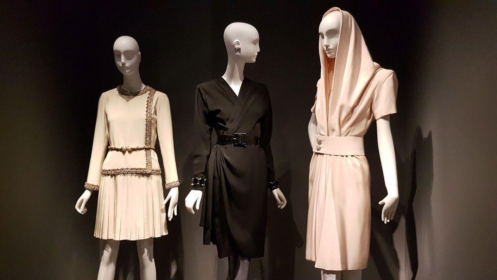 Haute-Couture Yves Saint-Laurent Musée des Tissus Lyon
