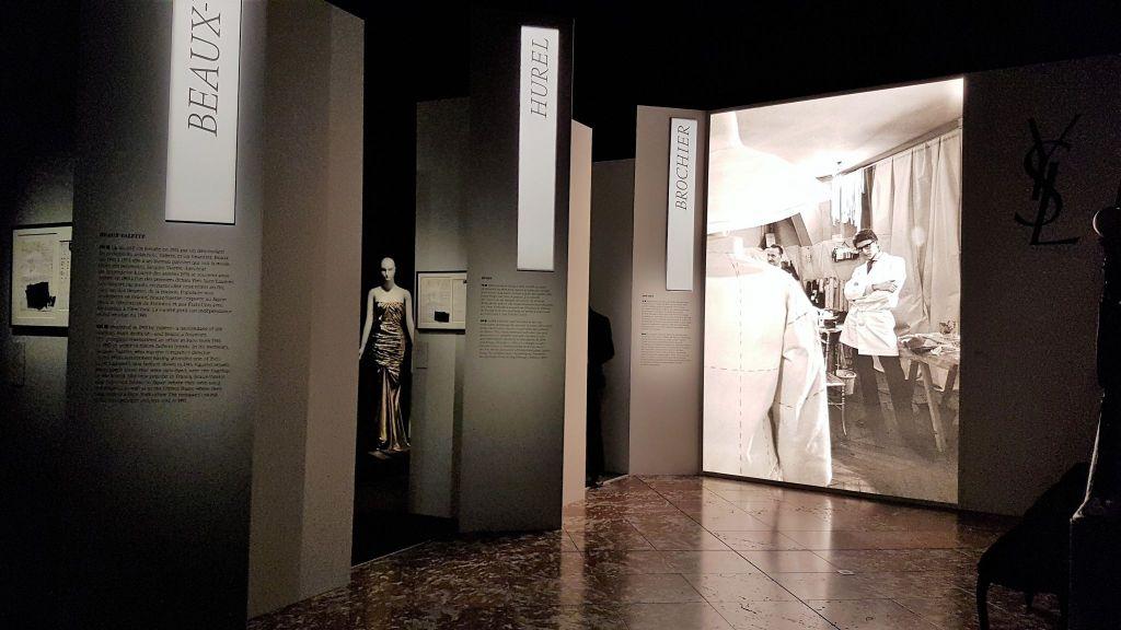 Yves Saint-Laurent Musée des Tissus de Lyon