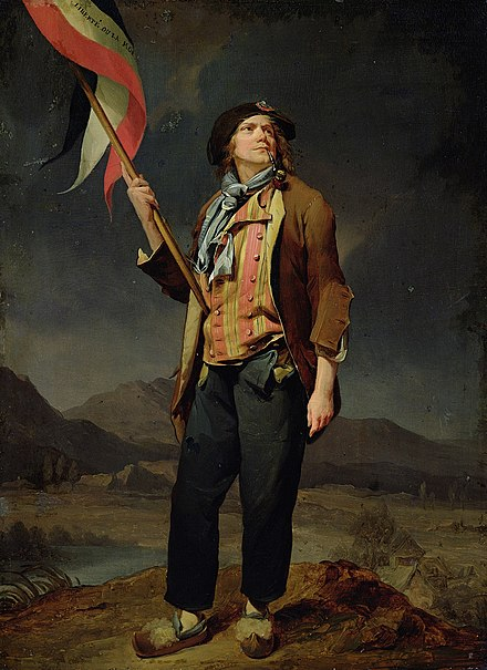 Chénard, premier costume sans culotte Louis Léopold Boilly