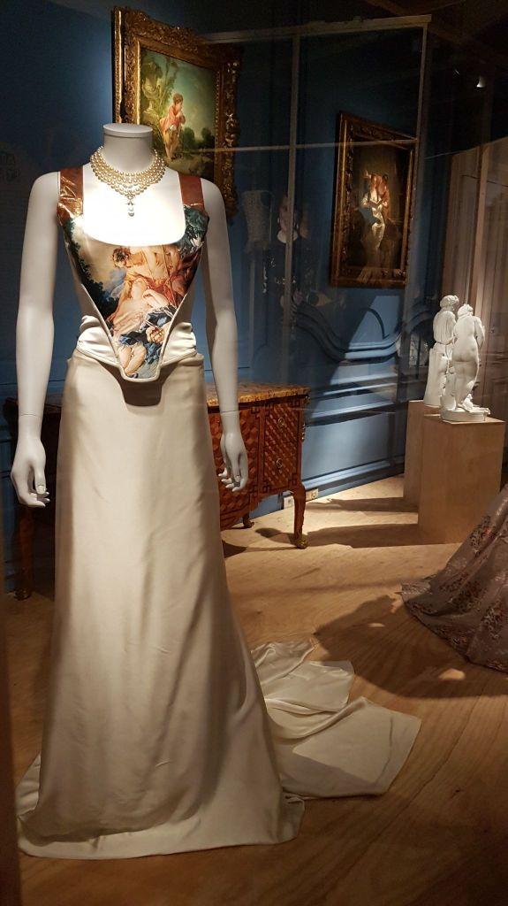 Robe Vivienne Westwood Corset imprimé Boucher