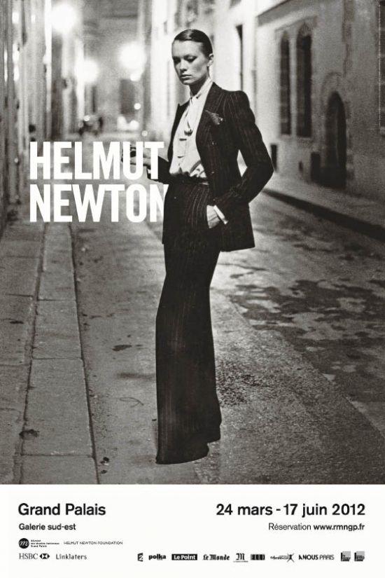 Affiche Expo Helmut Newton Grand Palais 2012