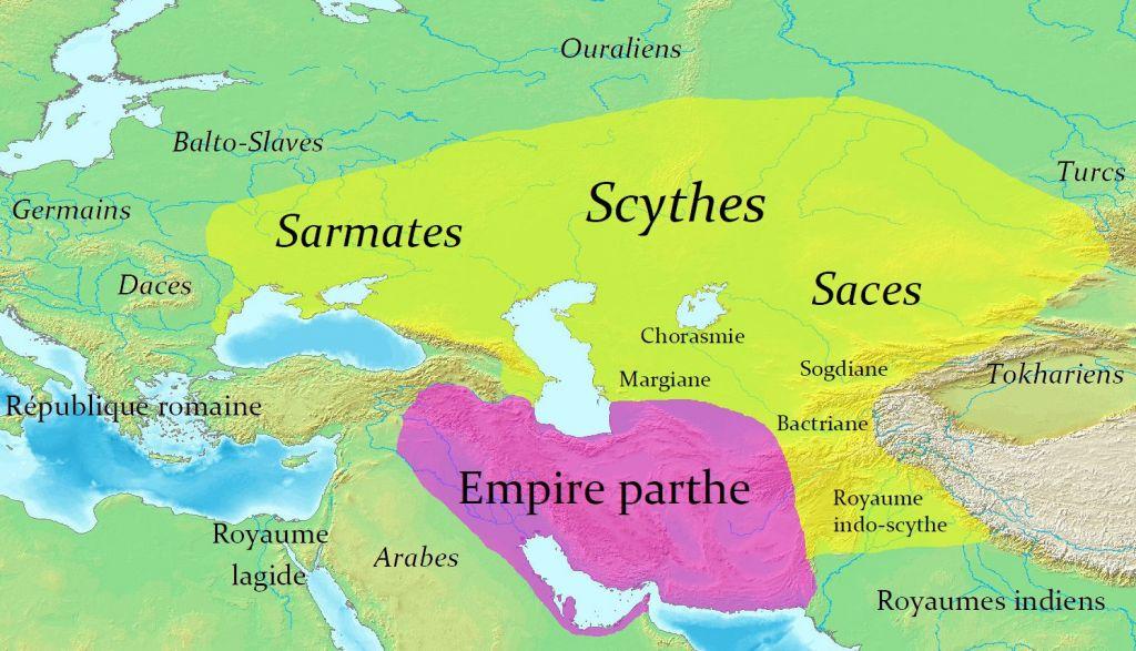 Carte de Scythie